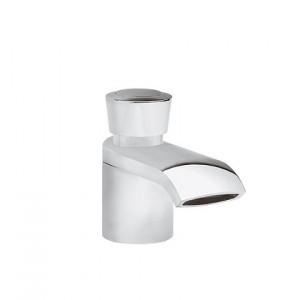 Смеситель для раковины одновентильный с донным клапаном каскадный Kludi Joop! хром 550230505