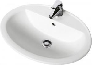 Раковина для ванной встраиваемая KOLO коллекция Nova Top белая 1517000