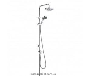 Kludi A-QAs душевая система с верхним и ручным душем 6609105-00