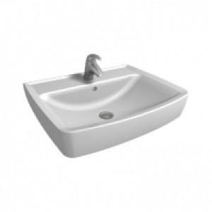 Раковина для ванной на тумбу KOLO коллекция Rekord белая K91962000
