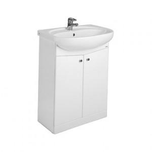 Раковина для ванной на тумбу + тумба KOLO коллекция Nova белая 29211000