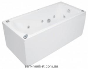 Ванна акриловая прямоугольная PoolSpa коллекция Linea 170х75х61 PWPJB..ZS000000 + рама