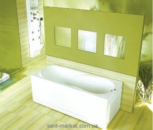 Ванна акриловая прямоугольная PoolSpa коллекция Muza 170х70х61 PWPD7..ZS000000 + рама