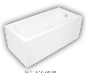 Ванна акриловая прямоугольная PoolSpa коллекция Linea 140х70х61 PWPNA..ZN000000 + ножки