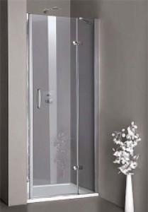 Душевая дверь в нишу Huppe Aura elegance стеклянная распашная 100х190 400103092322
