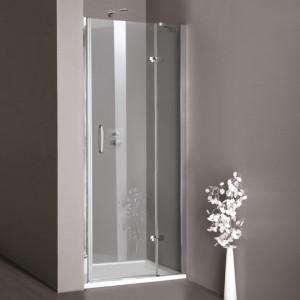 Душевая дверь в нишу Huppe Aura elegance стеклянная распашная 90х190 400202092321