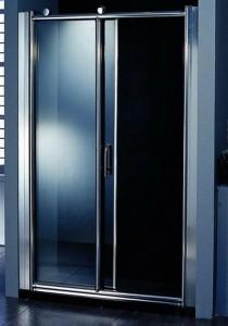 Душевая дверь в нишу Appollo стеклянная раздвижная на роликах 140х187 TS-0507D-A
