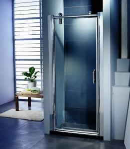 Душевая дверь в нишу Appollo стеклянная распашная 100х187 TS-0509D-A