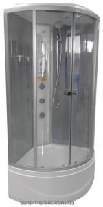 Appollo Гидромассажная кабина, глубокий поддон,прозрачное стекло 900*900*2175 AW-5026