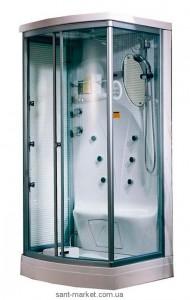 Гидробокс угловой Appollo TS-35W 110х90x220 с низким поддоном