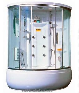 Гидробокс угловой Appollo TS-1235W 123х123х216 с высоким поддоном