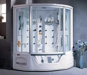 Гидробокс угловой Appollo TS-0818 155х155х222 с ванной
