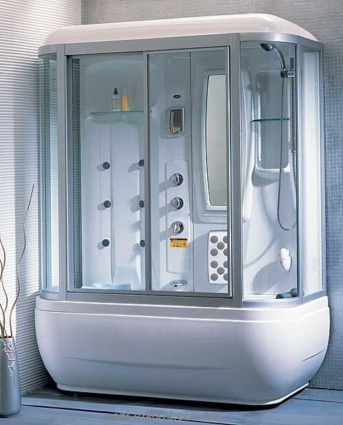 Паровой гидробокс пристенный Appollo А-0734 171x82x220 с ванной прямоугольный