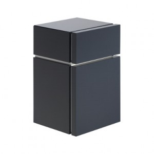 Kolo VARIUS шкафчик боковой с выдвижным ящиком, низкий 36,5 x 59,6 x 36,2 см, темный графит 88153000