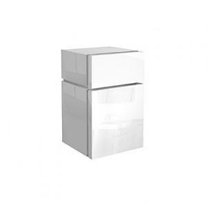 Kolo VARIUS шкафчик боковой с выдвижным ящиком, низкий 36,5 x 59,6 x 36,2 см, белый глянец 88115000