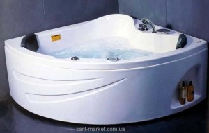 Ванна акриловая угловая симметричная Appollo TS 150х150х55 TS-1515