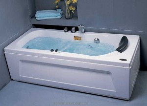 Ванна гидромассажная акриловая прямоугольная Appollo 170х75х60 АТ-0941