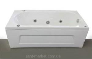 Ванна гидромассажная акриловая прямоугольная Appollo 170х75х55 AT-1701Q