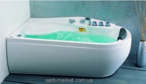 Ванна гидромассажная акриловая угловая Appollo 170х90х68 АТ-537L левая