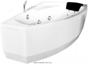 Ванна гидромассажная акриловая угловая Appollo 150х100х63 АТ-9038R правая