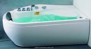 Ванна гидромассажная акриловая угловая Appollo 170х90х68 АТ-537R правая