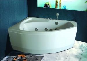 Ванна гидромассажная акриловая угловая Appollo 150х100х63 АТ-9038L левая