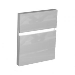 Kolo DOMINO фасад к шкафчику универсальному с дверцей, правому 30x37x42 см, бел. глян. 89262000