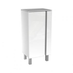 Kolo DOMINO XL шкафчик боковой, низкий 40 x 75 x 32,5 см, белый глянец 88358000