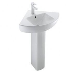 Раковина для ванной на пьедестал Jacob Delafon коллекция Odeon Up белая E4710-00