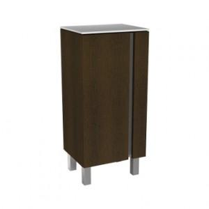 Kolo DOMINO XL шкафчик боковой, низкий 40 x 75 x 32,5 см, венге 88359000