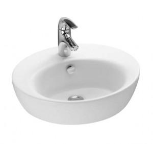 Раковина для ванной накладная Jacob Delafon коллекция Ove белая E1708-00