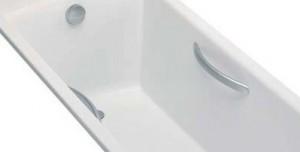 Jacob Delafon Parallel ручки для ванны E60327-CP