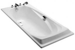 Jacob Delafon Repos ванна чугунная 170*80 с отверстиями для ручек E2915-00