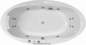 Ванна гидромассажная акриловая овальная PoolSpa Aura 204х103х58 PHRVO10SO1C000 Economy 1
