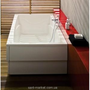 Ванна акриловая прямоугольная PoolSpa Fantasy 185х115х61 PWP1H10ZS000000 + рама