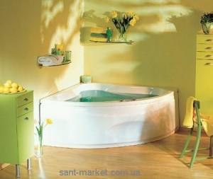 Ванна акриловая угловая PoolSpa коллекция Francja 150х150х64 PWS3410ZS000000 + каркас