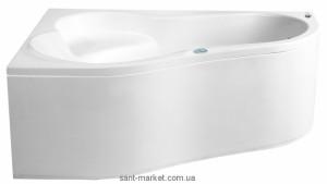 Ванна акриловая угловая PoolSpa коллекция Leda 150х100х58 L PWAE510ZN000000 + ножки