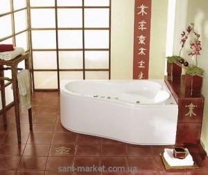 Ванна акриловая угловая PoolSpa коллекция Leda 160х100х59 R PWAH510ZN000000 + ножки