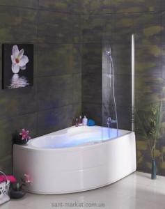 Ванна акриловая угловая PoolSpa коллекция Mistral 170х105х60 R PWA4T10ZS000000 + рама