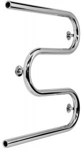 Водяной полотенцесушитель Laris коллекция Змеевик М-образный 600х600х65 хром 71207213