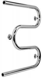 Водяной полотенцесушитель Laris коллекция Змеевик М-образный 600х530х60 хром 71207175