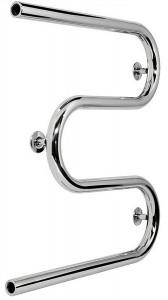 Водяной полотенцесушитель Laris коллекция Змеевик М-образный 800х530х60 хром 71207547