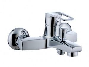 Смеситель однорычажный для ванны с коротким изливом Imprese коллекция Lidice хром 10095