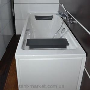 Ванна акриловая прямоугольная Kolo Comfort Plus 170х75х44 XWP1471000 с ручками