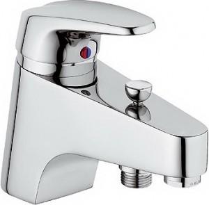 Смеситель для ванны однорычажный с коротким изливом Kludi коллекция Objekta-Mix New хром 336850575