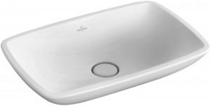 Раковина для ванной накладная Villeroy & Boch коллекция Loop & Friends белая 51540001