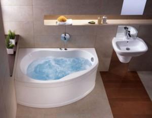 Ванна акриловая угловая Kolo Promise 150х100х47 R CWA3050CS00-EM + система МХ200