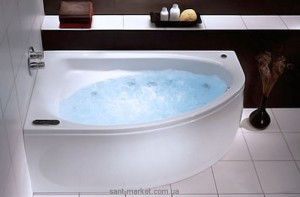 Ванна акриловая угловая Kolo коллекция Spring 160х100х47 L XWA3061000