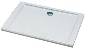 Душевой поддон акриловый прямоугольный Kolo PACYFIK 100х80х5 белый XBP0718000