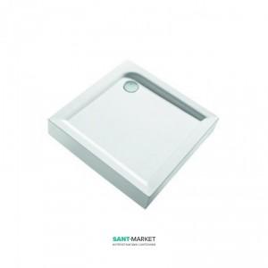 Душевой поддон акриловый квадратный Kolo FIRST 80х801х16.5 белый XBK1680000
